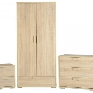 Cambourne Bedroom Set - Light Oak