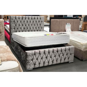 Chesterfield Style Ottoman Divan Bed -Bedlines