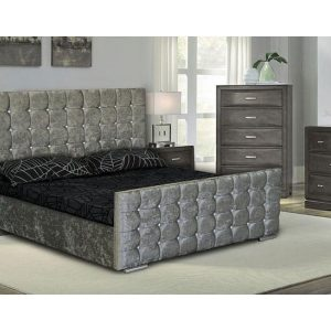 Louise Fabric Bed Frame -Bedlines