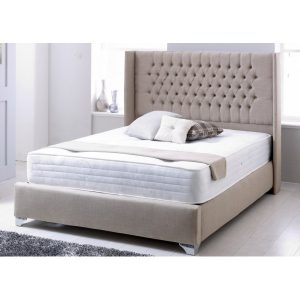 Winsley Fabric Buttonned Chesterfield Bed Frame -Bedlines